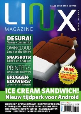 Linux Magazine 1, iOS, Android & Windows 10 magazine