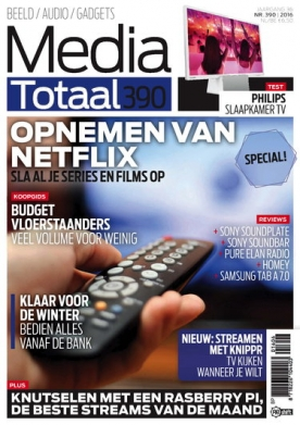 Media Totaal 390, iOS, Android & Windows 10 magazine