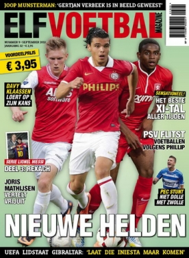 Elf Voetbal Magazine 9, iOS, Android & Windows 10 magazine