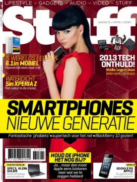 Stuff Magazine 1, iOS, Android & Windows 10 magazine