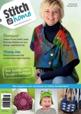 StitchatHome 45, iOS & Android  magazine