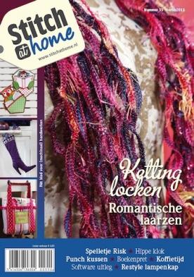 StitchatHome 35, iOS & Android  magazine