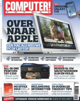 Computer Totaal 8, iOS, Android & Windows 10 magazine