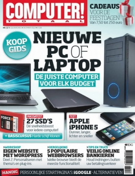 Computer Totaal 12, iOS & Android  magazine
