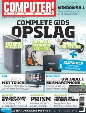 Computer Totaal 8, iOS, Android & Windows 10 magazine