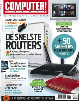 Computer Totaal 10, iOS, Android & Windows 10 magazine