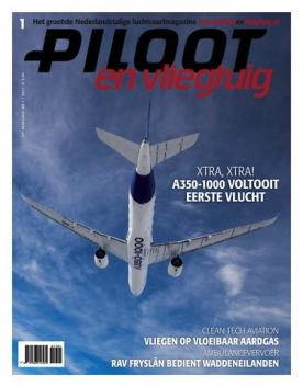 Piloot & Vliegtuig 1, iOS & Android  magazine