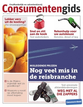 Consumentengids 1, iOS & Android  magazine