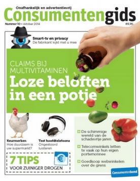 Consumentengids 10, iOS & Android  magazine