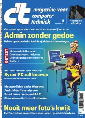c't magazine 9, iOS, Android & Windows 10 magazine