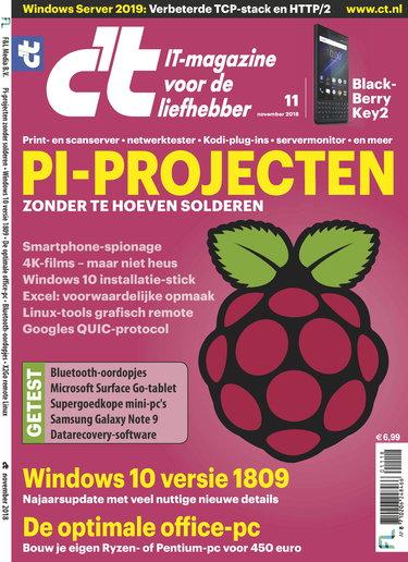 c't magazine 11, iOS & Android  magazine