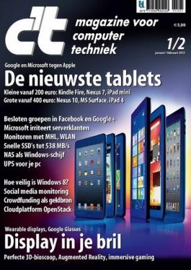 c't magazine 1, iOS magazine