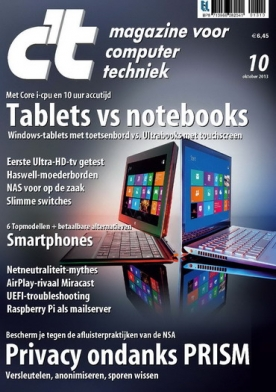 c't magazine 10, iOS & Android  magazine