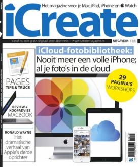 iCreate 84, iOS & Android  magazine