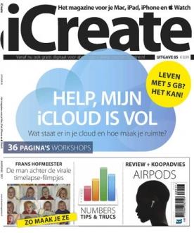 iCreate 85, iOS, Android & Windows 10 magazine