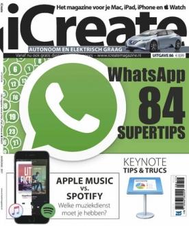 iCreate 86, iOS & Android  magazine