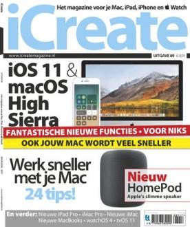 iCreate 89, iOS & Android  magazine