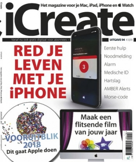 iCreate 94, iOS & Android  magazine
