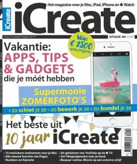 iCreate 100, iOS & Android  magazine