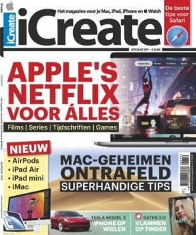iCreate 107, iOS & Android  magazine
