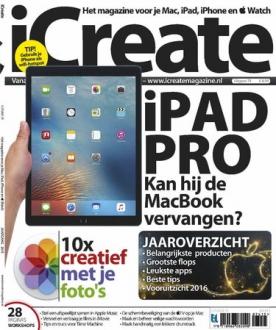 iCreate 74, iOS & Android  magazine