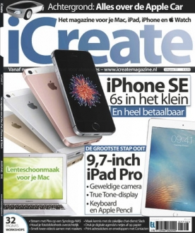 iCreate 77, iOS & Android  magazine