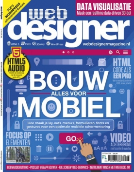 Webdesigner 98, iOS, Android & Windows 10 magazine