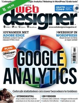 Webdesigner 45, iOS, Android & Windows 10 magazine