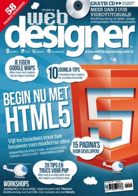Webdesigner 49, iOS, Android & Windows 10 magazine