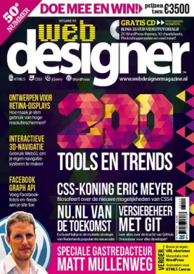 Webdesigner 50, iOS, Android & Windows 10 magazine