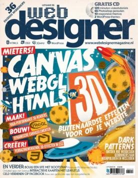 Webdesigner 55, iOS, Android & Windows 10 magazine