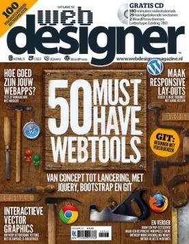 Webdesigner 57, iOS, Android & Windows 10 magazine