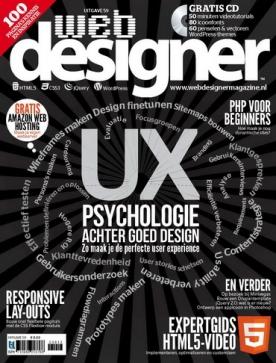 Webdesigner 59, iOS, Android & Windows 10 magazine
