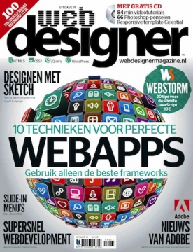 Webdesigner 71, iOS, Android & Windows 10 magazine