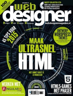 Webdesigner 73, iOS, Android & Windows 10 magazine
