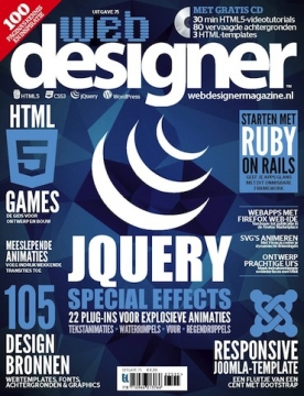 Webdesigner 75, iOS, Android & Windows 10 magazine