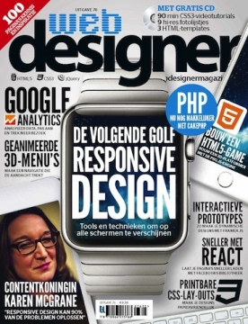 Webdesigner 76, iOS, Android & Windows 10 magazine