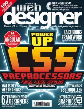 Webdesigner 78, iOS, Android & Windows 10 magazine