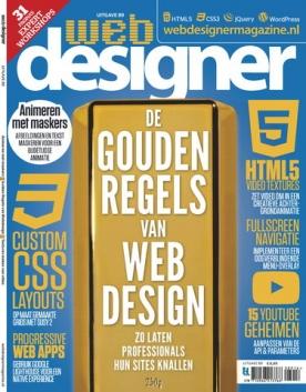 Webdesigner 89, iOS, Android & Windows 10 magazine