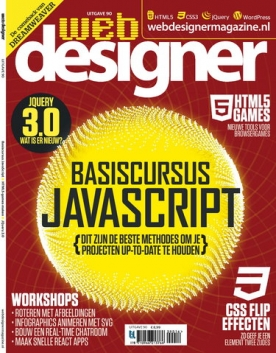 Webdesigner 90, iOS, Android & Windows 10 magazine