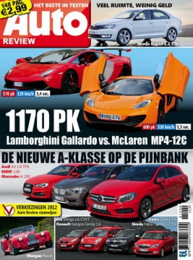 Auto review magazine