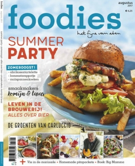 Foodies Magazine 8, iOS & Android  magazine