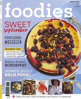 Foodies Magazine 9, iOS, Android & Windows 10 magazine