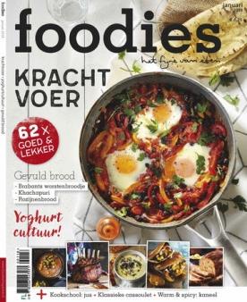 Foodies Magazine 1, iOS & Android  magazine
