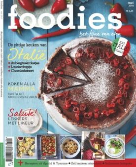 Foodies Magazine 5, iOS & Android  magazine