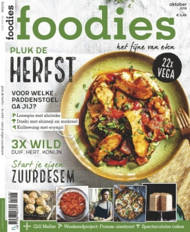 Foodies Magazine 10, iOS & Android  magazine