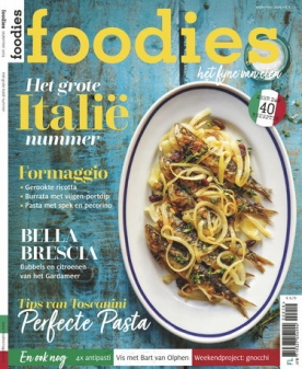 Foodies Magazine 9, iOS & Android  magazine