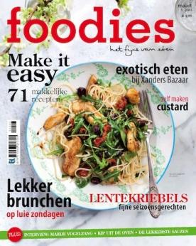 Foodies Magazine 3, iOS, Android & Windows 10 magazine