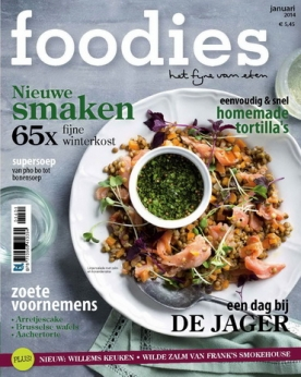 Foodies Magazine 1, iOS, Android & Windows 10 magazine