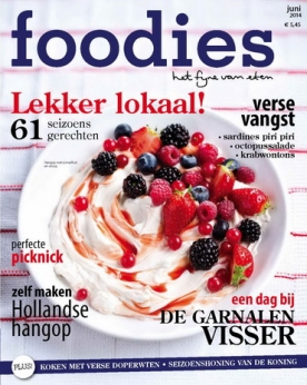 Foodies Magazine 6, iOS, Android & Windows 10 magazine
